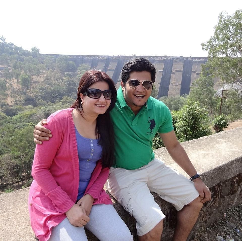 Shilpa and Siddharth during happier times