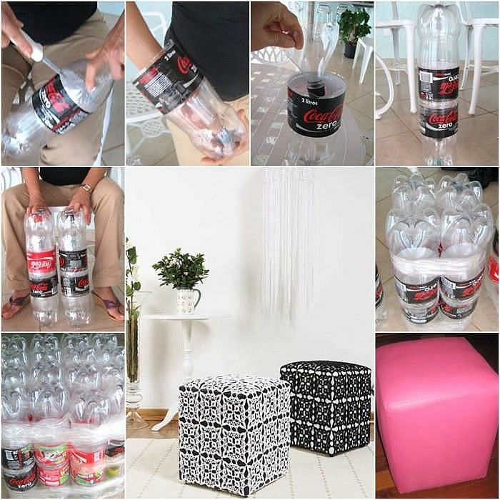 How-to-Make-a-Nice-DIY-Ottoman-from-Plastic-Bottles-700x700