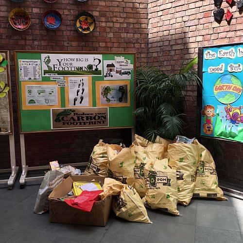 Trash in Pom Pom's bags us much better than in overflowing landfills