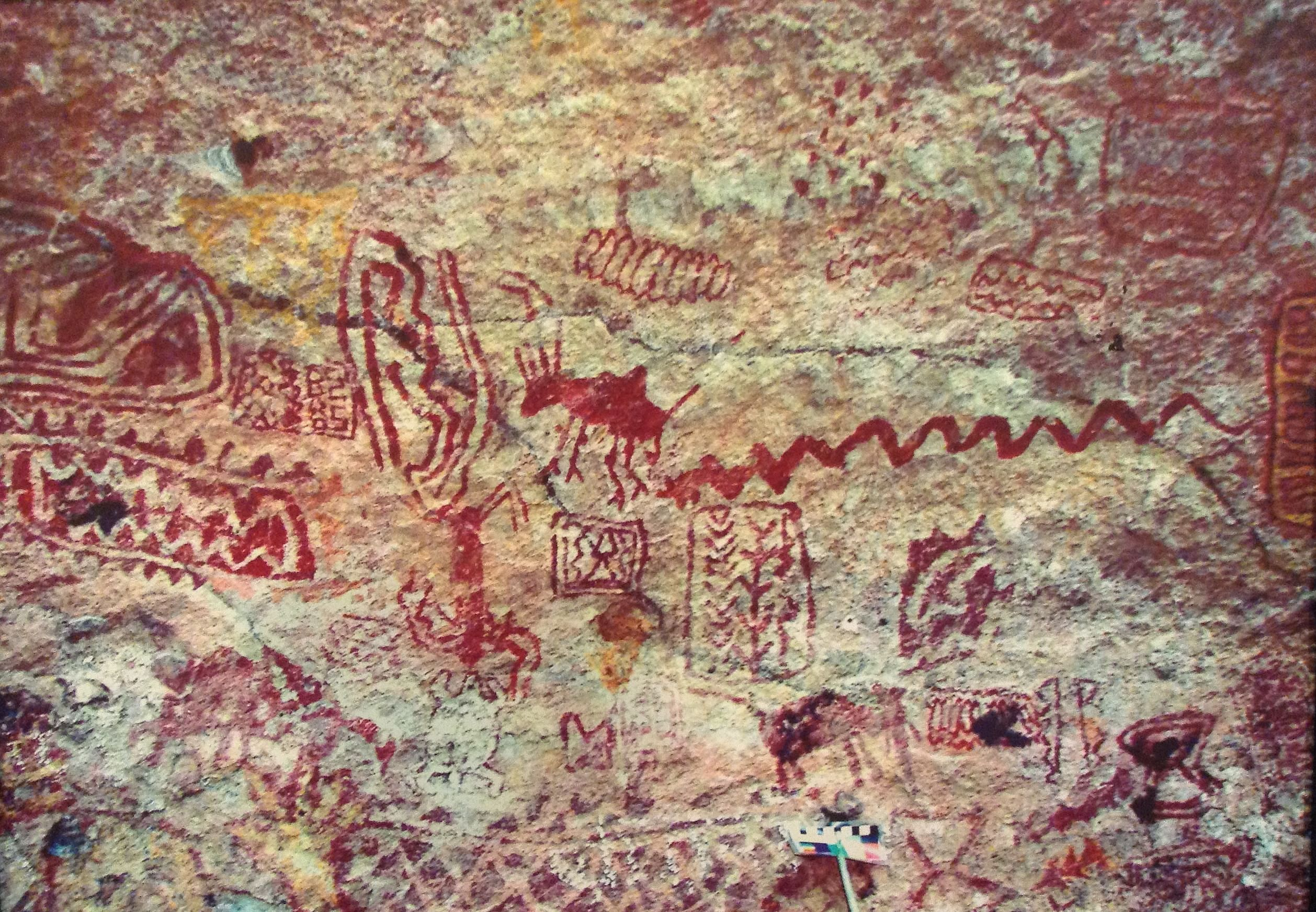 Rock art from Central India
