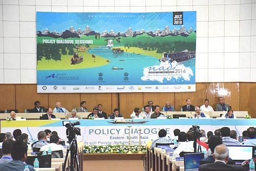 The Policy Session at Nadi Festival brings state heads on one podium. (Photo: Asian Confluence,Shillong)