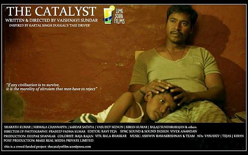 Vaishnavi Sundar's second film, The Catalyst, was a crowd-funded project inspired by the story 'Taxi Driver' written by the infamous Indian writer Kartar Singh Duggal.