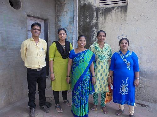The committed group of sakhis are constantly in touch with the women. (Credit: Ranjita Biswas\WFS)