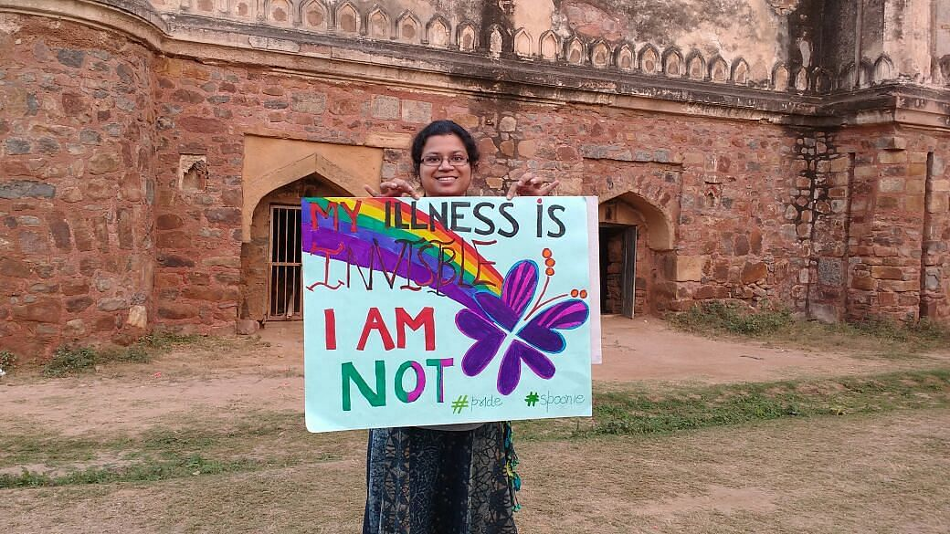 Poster saying My Illness is Invisible, I am not.
